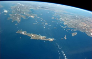 Crete from the sky